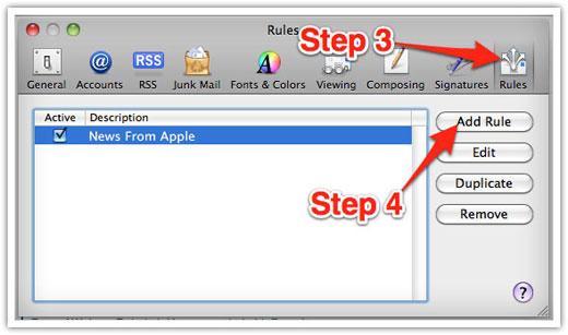 Apple Mac Mail Step 2