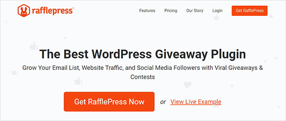 RafflePress the best plugin to run a photo contest