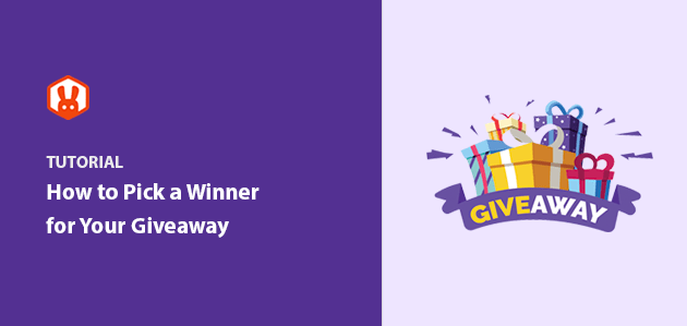 How To Pick A Winner Of A Giveaway (the Easy Way)