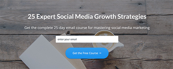Create a free email course