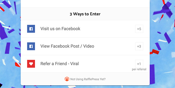 Grow your Facebook page options