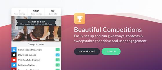 Gleam free social media contests