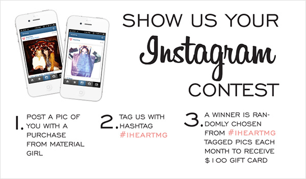 Hashtag contests on instagram