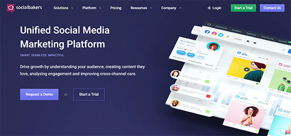 Socialbakers Social Media Marketing Platform