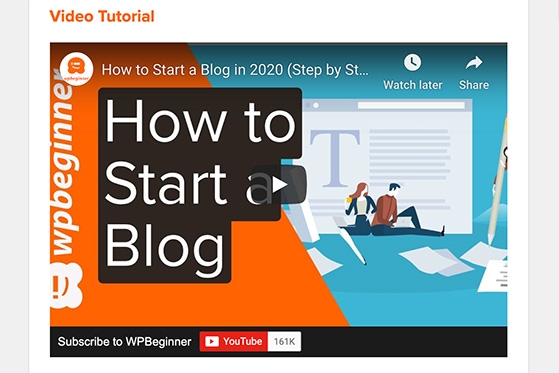 A great lead generation method is a to create a video tutorial
