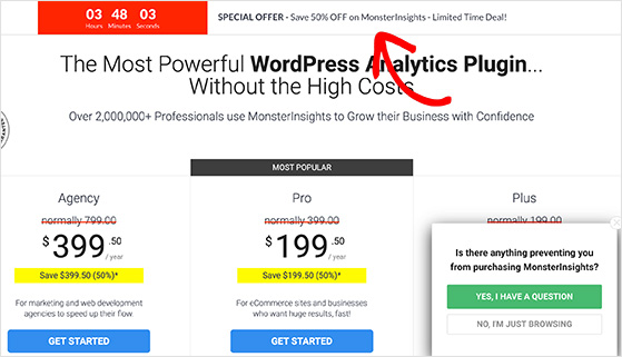 Countdown timers as ecommerce promotion ideas