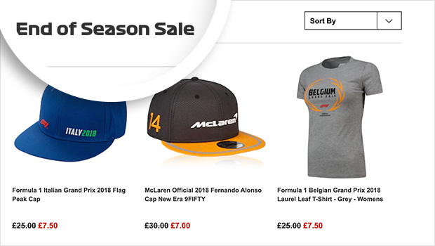 run end of season discounts to promote products you need gone quickly