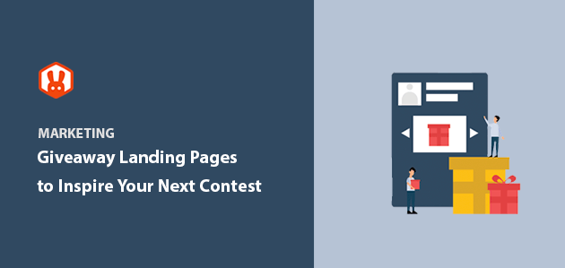 8 Giveaway Landing Page Examples to Inspire You