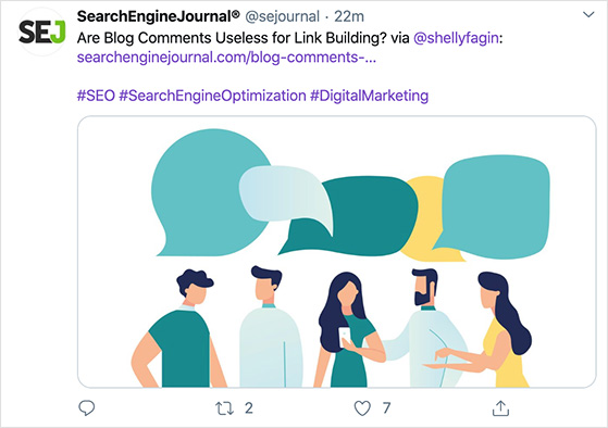 increase engagement on twitter with Image posts