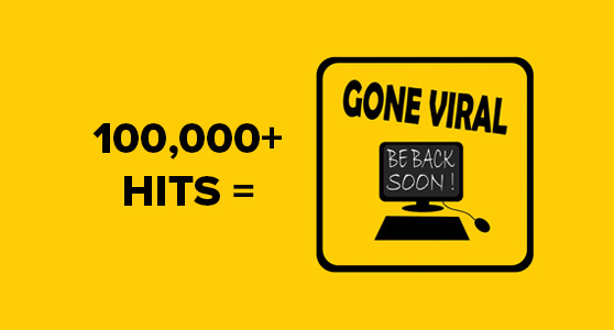 You need over 100,000 hits to hit viral status on Instagram