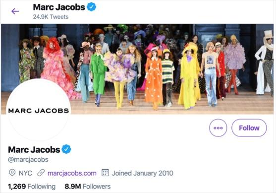 Mac jacobs twitter header