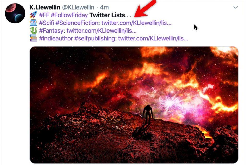 Create public Twitter lists