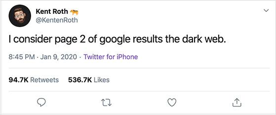 Funny viral tweet