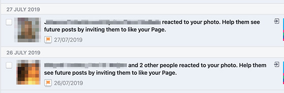 Invite other people to like your Facebook page