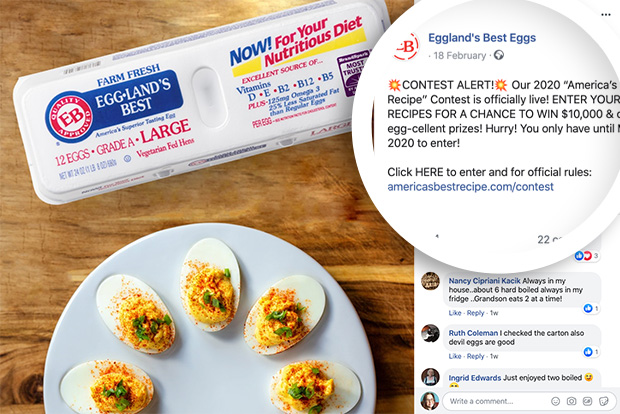 Share a recipe contest