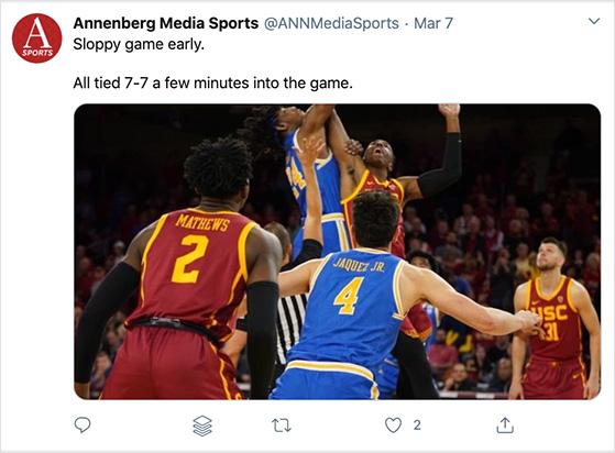 Live tweeting sports