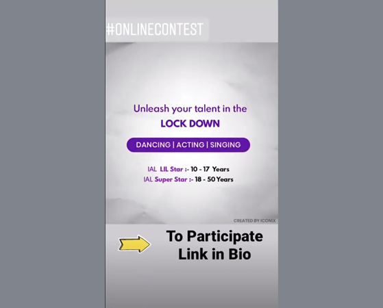 Instagram Story User Generated Content Giveaway