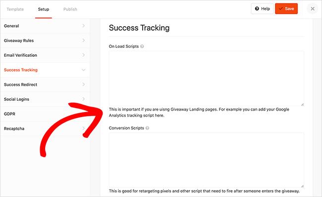 retargeting tracking