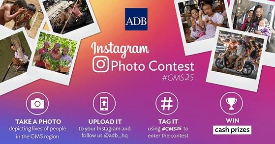 ADB instagram photo contest