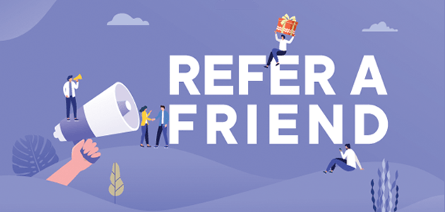 How to create a refer-a-friend giveaway