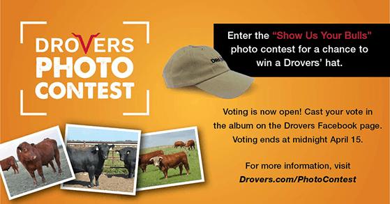 Drovers social media photo contest