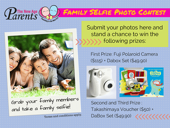 Photography giveaway ideas: family photo contest
