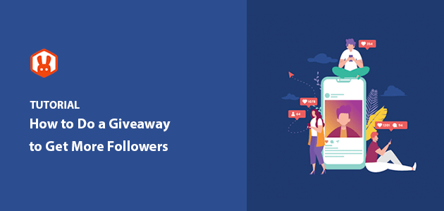 giveaway to get more followers