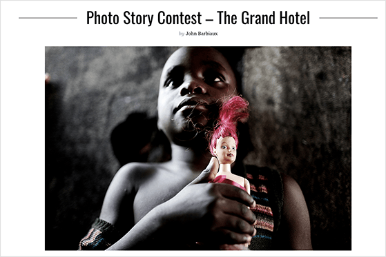 Run a photo story contest to promote your photography business