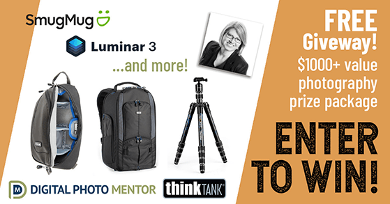 Partner with brands to offer a photography giveaway bundle