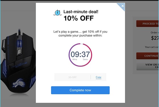Add urgency to your popups with countdown timers