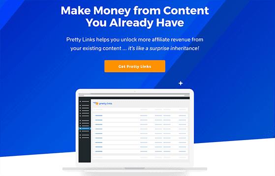Pretty Links is the best WordPress affiliate marketing plugin