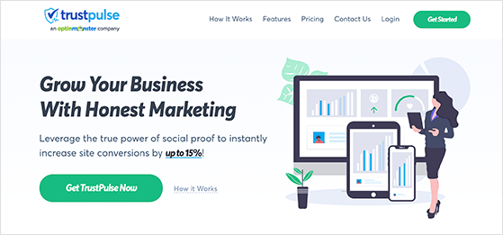 TrustPulse is the best recents sales notification popup tool for WordPress