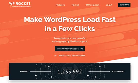 WP Rocket is the best WordPress cache plugin