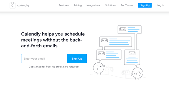 calendly is  a calendar scheduling tool