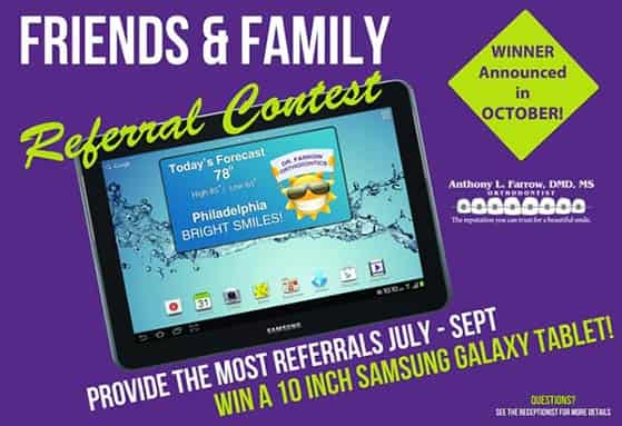 A referral contest is a contest that requires users to share the giveaway with their friends to enter