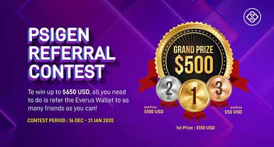 Choose a highly desirable prize for your referral contest