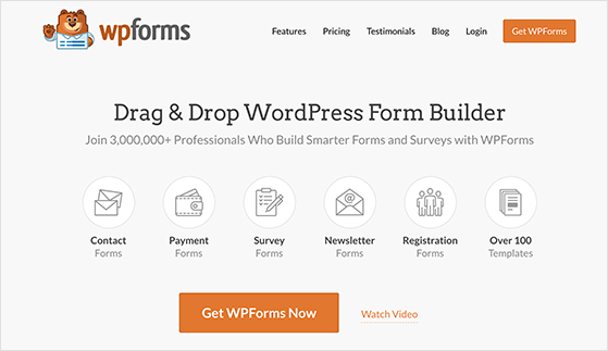 WPForms is the best plugin for learning how to create a contact form in WordPress
