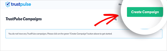 Create a new live sales notification campaign