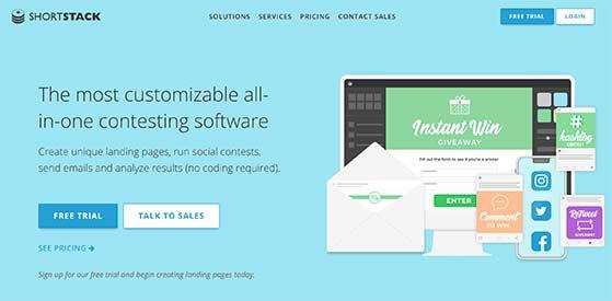 shortstack free social media contest tool