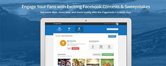 Pagemodo free social media marketing contest tool