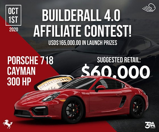 Choose a relevant affiliate contest prize