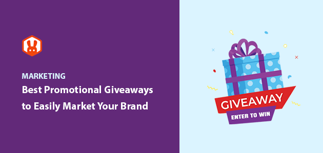 15+ Best Promotional Giveaways to Easily Market Your Brand
