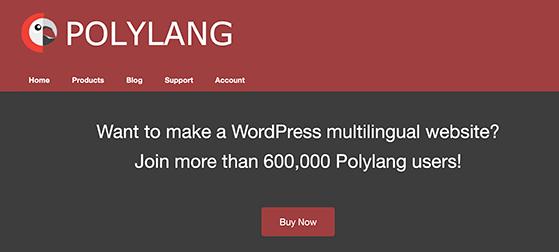 Polylang free WordPress multilingual plugin