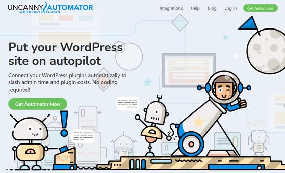 uncanny automator wordpress plugin