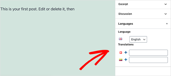 Translate your WordPress content with Polylang