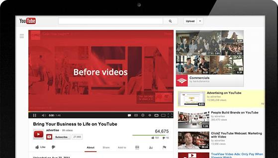 YouTube video sharing platform