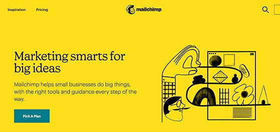 Mailchimp free email marketing service