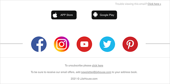 Make you emails easy to share