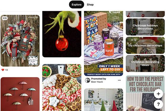 Post seasonal content on Pinterest in advance for more Pinterest followers