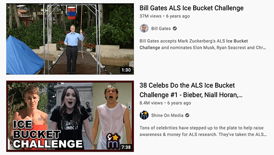 Create YouTube challenge videos to get more likes on YouTube